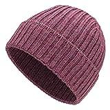 Weiche Damen & Herren Alpaka Mütze aus 100% Alpaka Wolle in 10 Farben - Hochwertige Winter Strickmütze/Beanie Wollmütze von HansaFarm