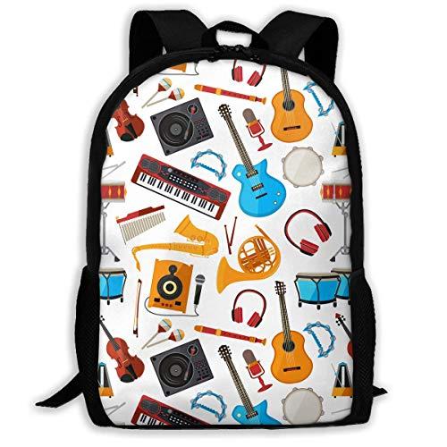 HYJDZKJY luidsprekers versterker muziek jazz gitaar outdoor schouders tas stof rugzak multifunctionele Daypacks voor Schule