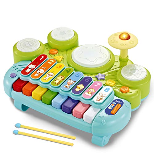 fisca 3 in 1 Musical Instruments Toys,...