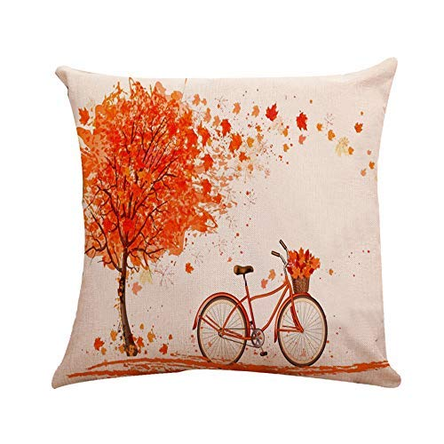 Throw Pillow Covers Cushion Case Home Decor for Livingroom Sofa Car Bedroom With Invisible Zipper 18x18 Inches