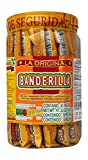 Banderilla Tama-Roca Tamarindo Mexican Candy Sticks. Contains 30 Pieces of Spicy Tamarind Candy With Salt And Chili. from Tama-Roca