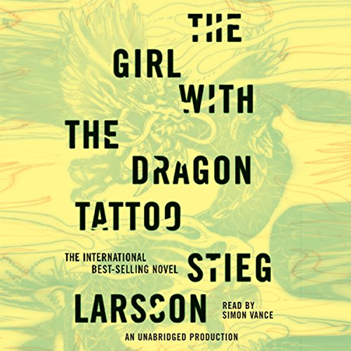 The Girl with the Dragon Tattoo  audiobook cover art
