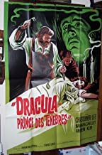 Dracula Prince of Darkness Original French Movie Poster 1966
