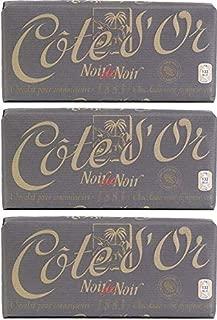 Cote D'or Noir De Noir 1883 Dark Chocolate (150g) 5.3oz Bar (Pack of 3)