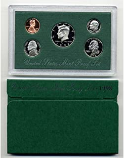 1998 S US PROOF Set Comes in original US mint packaging Proof