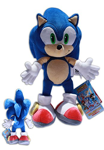 Sonic the Hedgehog Muñeco del videojuego SEGA, peluche de