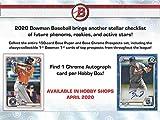 2020 Bowman MLB Baseball RETAIL box (24 pks/bx)