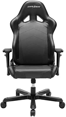 DXRacer OH/TS29/N Black Tank Series Gaming Chair Ergonomic High Backrest Office Computer