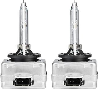 Baverta Lámpara Lámpara de xenón 2PCS D3S 6000K 35W Soporte de Hierro Lámpara de xenón para una Larga Vida útil Ultrabrillo