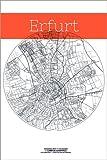 Poster 61 x 91 cm: Erfurt Karte Kreis von Campus Graphics -