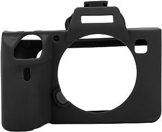 EBTOOLS Étui de Protection en Silicone Souple pour Sony A7 III / A7R3(Noir)