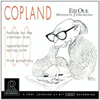 Copland: Fanfare for the Common Man, Appalachian Spring Suite, Third Symphony (2000-08-15)