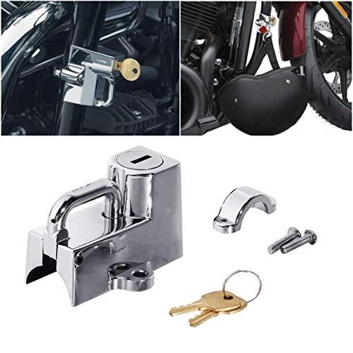 Für Kuryakyn Cruiser Motorrad Helmschloss 22mm 7/8 für alle 1-1/4 Zoll bis 1-1/2 Zoll Cyclist store