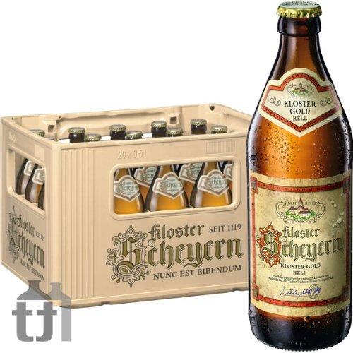 20 Flaschen Mönchshof Kloster Scheyen Gold a 0,5L 5,4% Vol inc. 1.60€ MEHRWEG Pfand