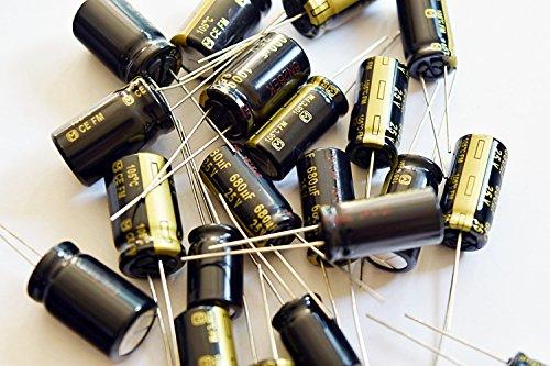 capacitors 6 pcs Panasonic FM Series Capacitors 16V 470uf Low Impedance