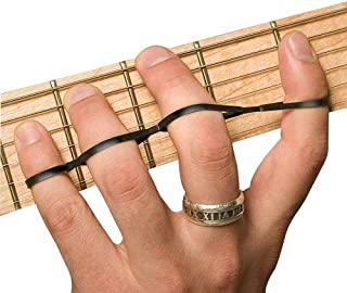 Riff BANDZ – Training Bands For Guitar Bass Piano Finger Speed System - Premium Set of 3 Hand Strengthener Accessories