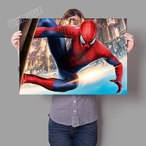 Cartoon Classic Superhelden Film Spider HD Poster Kinderzimmer Kinderzimmer Malerei Wohnkultur Wandkunst Bild Leinwand Malerei 50 * 70cm H.