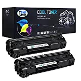 Generic 2 Pack High Yield 3,000 Pages Compatible Toner Cartridge Replacement for Canon Cartridge 128 Crg-128 Compatible Used For ImageClass MF4450 MF4570 MF4770N MF4580 MF4880DW MF4890DW D530 D550