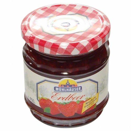 Mühlhauser Extra Konfitüre Erdbeer - 1 x 450 g