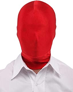Breathable Mask Hood Face Cover, Comfy Lycra Spandex Zentai Costume