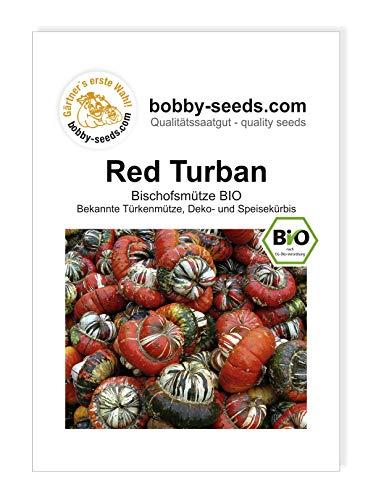 Red Turban Bio - Bischofsmütze Kürbissamen von Bobby-Seeds Portion