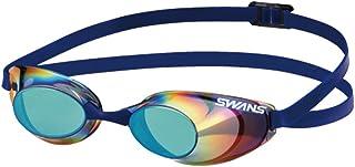 SWANS(スワンズ) 競泳用 スイミング ゴーグル Sniper ノンクッション ミラーレンズ FINA承認モデル SR-10M