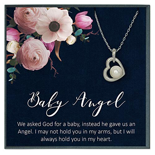 Baby Angel Miscarriage Gifts Miscarriage Jewelry Loss of Baby Gifts Memorial Jewelry Miscarriage Quotes