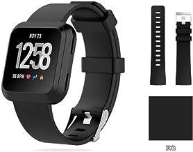 For Fitbit Versa Smart Sports Watch Monochrome Silicone Versa Sports Watch Fit Wrist Strap