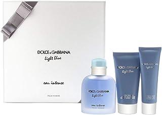 DOLCE&GABBANA 3-Pc. Light Blue Eau Intense Pour Homme Gift Set