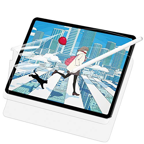 SAEYON [2 Pack Not Glass Screen Protector for Apple iPad Pro 11 2020/ iPad Pro 11 2018/ iPad Air 4 2020, Matte Paper Feel Film for iPad 10,9' & 11',Write, Draw & Sketch Soft Protective Film