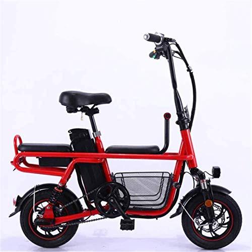 Bici electrica, Viajes Bicicleta eléctrica Plegable de la batería de Litio eléctricos...