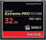 anDisk Extreme Pro - Tarjeta de Memoria CompactFlash de 32 GB UDMA de 7 velocidades de hasta 160 MB/s, SDCFXPS-032G-X46 (Reacondicionado)