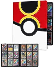 Totem WorldPremium Binder Album for Pokemon Cards with 20 9-Pocket Side Loading Pages - Collectors Album Holds 360 Cards - Inspired Repeat Ball