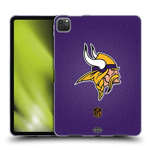 Head Case Designs Officially Licensed NFL Football Minnesota Vikings Logo Soft Gel Case Compatible with Apple iPad Pro 11 (2020)