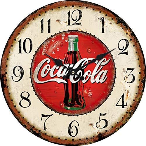 Giow Relojes creativos Nuevos Relojes de Pared Retro en la Sala de Estar Relojes creativos para Relojes domésticos, ciento Cincuenta y un mil quinientos Sesenta y uno