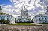 Rompecabezas de 1000 piezas-Catedral de San Petersburgo Juegos educativos para niños Entretenimiento,Juegos de descompresión-50 * 75cm