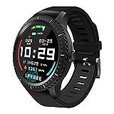 Smartwatch, LIFEBEE Reloj Inteligente Hombre Mujer, Pulsera Actividad Inteligente para Deporte, Impermeable IP68 Reloj de Fitness con Monitor de Ritmo Cardíaco/Sueño para iOS Android iPhone