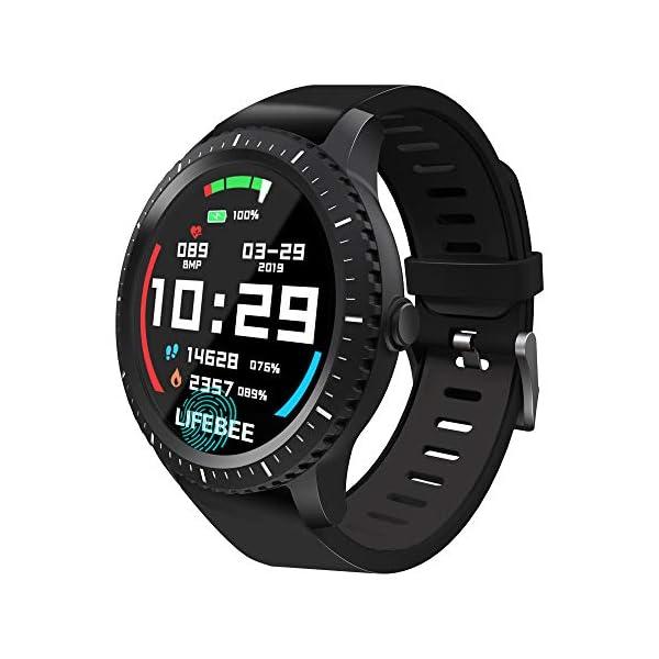 Smartwatch, LIFEBEE Reloj Inteligente Hombre Mujer, Pulsera Actividad Inteligente