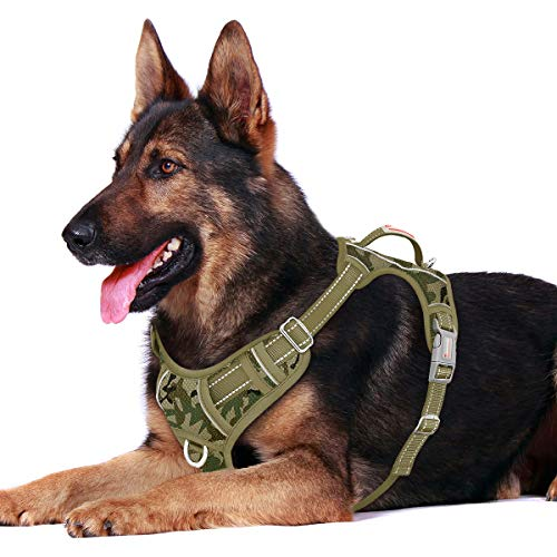BARKBAY No Pull Dog Harness Front Clip Heavy Duty Reflective Easy Control Handle for Large Dog...