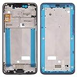 O-OBDO Carcasa frontal de repuesto para teléfono móvil para Nokia 5.1 Plus (X5) TA-1102 TA-1105 TA-1108 TA-1109 TA-1112 TA-1120 TA-1199, pieza de reparación de teléfono celular (color negro)