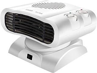 SH-JTL Pequeño Termoventiladores Portátil Calefactores Cerámicos 3 Modos Protección Sobrecalentamiento Frio Y Caliente 500 W Calentador de Ventilador Adecuado para Dormitorio Oficina Baño,Blanco