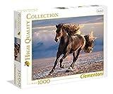 Clementoni- Pferd Puzzle 1000 Piezas Caballo Libre, Multicolor (39420.3)
