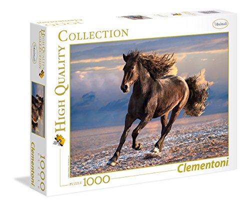 Clementoni 39420 Pferd Wildpferd-HQC Puzzle, 1000 Teile