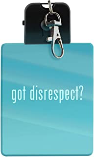 got disrespect? - LED Key Chain with Easy Clasp