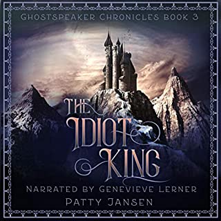 The Idiot King audiobook cover art