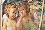 1art1 Annibale Carracci - Wispernde Engel, Detail Aus Diana