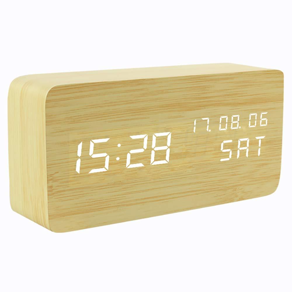 Gingko GK15W11 Click Clock R/éveil Brique Effet H/être LED Blanc