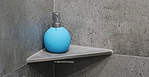 Befliesbare Duschablage - Typ Q 280 - Quado - Edelstahl V2A/F - nachrüstbar - nachträglich einbaubar