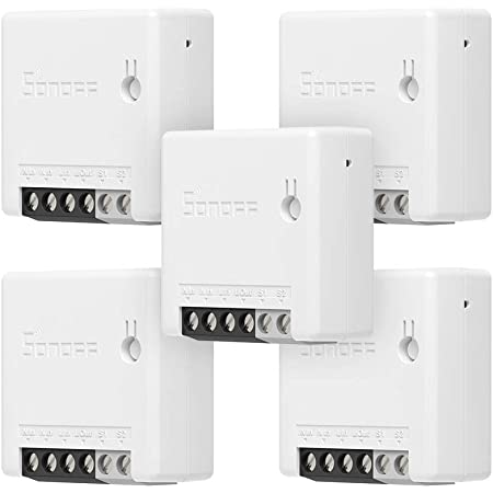 Sonoff Mini DIY Switch Diverter 2 Way Home Automation Wifi Alexa Google 220v 10a