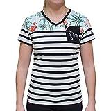 Religion Rugby - T-Shirt Marinière Miami - Femme - L